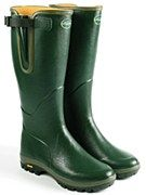 Le Chameau Vega Evolution Wellington Boots Size 36 - UK 3 Green