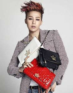 G-Dragon rocks handbags better than female models for 'J.Estina' | allkpop