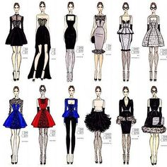 Hayden Williams for Sketch Street collection - Fashion sketch ! Informations About Hayden Williams for Sketch Street collection Pin You can easily - Fashion Design Sketchbook, Fashion Illustration Sketches, Fashion Design Drawings, Fashion Sketches, Art Sketchbook, New Fashion, Trendy Fashion, Fashion Art, Fashion Black