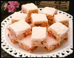 Coconut Ice Slice from the vintage edition of the bestselling Big Book of Beautiful Biscuits,