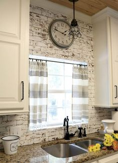Farmhouse Kitchen Ideas on a Budget – Rustic Kitchen Decor. Farmhouse kitchen ideas on a budget are connected to harmonious style and to a stunning atmosphere of warmth, comfort, and friendliness. Farmhouse Kitchen Curtains, Shabby Chic Kitchen, Modern Farmhouse Kitchens, Farmhouse Kitchen Decor, Home Decor Kitchen, Diy Kitchen, Kitchen Ideas, Rustic Farmhouse, Farmhouse Style