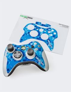 Customizing your favorite controller just got a lot easier! KontrolFreek Shields let gamers customize the look and feel of first-party Xbox 360 and PS3 controllers without expensive paint jobs or messy DIY projects. Shield Admiral adds a cool splash blue camo to your boring controller and looks great paired with your FPS Freek Infinity and our entire line of FPS Freek products. >Shields come two to a package. Product does not include FPS Freeks. $12.99