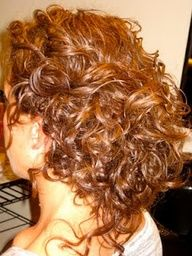 "How to do an updo on curly hair, low bun style-- Need to try this with my crazy.. curly hair."" data-componentType=""MODAL_PIN"