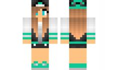 minecraft skin Jacket girl