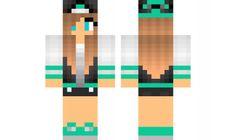 minecraft skin Jacket girl