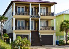 Tuxedo Flats: Vacation rental duplex in Gulf Shores, AL. Sleeps 24, 10 bedrooms, 10 bathrooms.