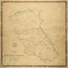 old mcduffie county map, via exploremcduffiecounty.com