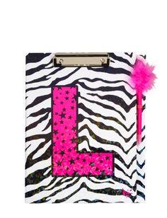Zebra Star Clipboard   Girls Backpacks & School Supplies Accessories   Shop Justice