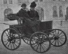 1896 H W STRUSS STANHOPE AUTOMOBILE  22-5