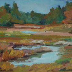 Thomas Bay Marsh #2 by Jillian Herrigel, Dimensions: 12 x 18 in, Price: $300.00