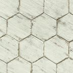 Merola Tile Retro Hex Blanc 14-1/8 in. x 16-1/4 in. Porcelain Floor and Wall Tile (10.76 sq. ft. / case) FNURTXBL at The Home Depot - Mobile