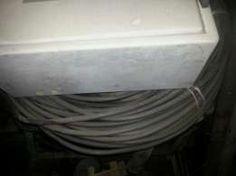 Kabel, przewód ADY 4x6 wraz ze skrzynią budowlaną