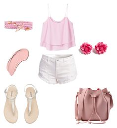 """Untitled #93"" by angel-barbara ❤ liked on Polyvore featuring MANGO, Tarina Tarantino and NYX"