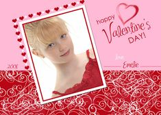 Personalized Valentine Cards,