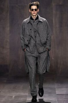GQ.COM (UK) - Grey on grey - Damir Doma - the top ten trends for A/W 13