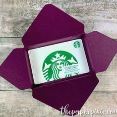 Gift Card Gift Box with Video Tutorial - The Paper Pixie