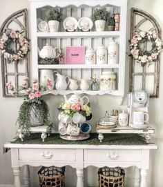 Shabby Chic Decor, creative suggestion number 4617378119 - A wonderful and handy info on shabby chic decor. home decor shabby chic curtains wise examples imagined on this day 20190424 Decor, Shabby Chic Decor, Chic Decor, Decor Inspiration, Home Decor, Country House Decor, Shabby Chic Furniture, Shabby Chic Room, Chic Home Decor