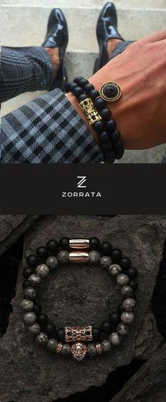 Zorrata wrist wear - jewelry for the modern man.