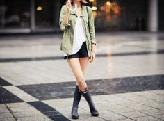 rainy day outfit! #outfits
