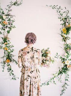 Styling & Design: Birds & Honey Photography: Justine Milton Florals: Fabloomosity