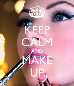 the make-up is beautiful