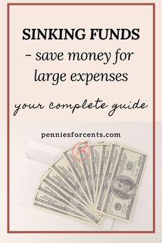 Large, irregular expenses can be tough on your budget. Sinking Funds allow you to have savings goals and pay for planned expenses without going into debt. This is how. Financial Literacy, Financial Goals, Ways To Save Money, Money Saving Tips, Best Budgeting Tools, Fund Accounting, Sinking Funds, Household Budget, Managing Money