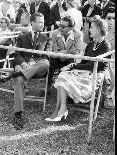Porfirio Rubirosa, Prince Alexis Obolensky and Barbara Hutton (wife of Porfirio Rubirosa),