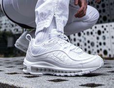 nike air max 98 white pure platinum nz