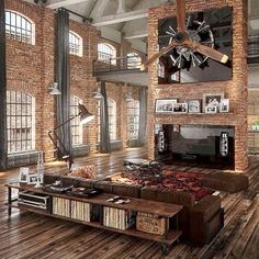 Industrial design at its best, is this the ultimate bachelor pad, gentlemen?  #Architecture #ArchDaily #DesignDaily #Goals #Luxury #Lifestyle #Gentlemen #Home #Decor