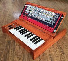 MATRIXSYNTH: Custom Wood Rack Synth Walnut Keyboard Enclosures