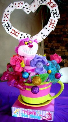 pictures of  alice in wonderland sweet sixteen ideas | TRENDS: Alice in Wonderland Parties on Catch My Party (Part 1) | Catch ...
