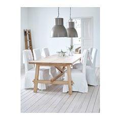IKEA - HEKTAR, Candeeiro suspenso, , Este candeeiro oferece uma luz agradável e difunde uma boa iluminação direta por cima da mesa ou balcão.