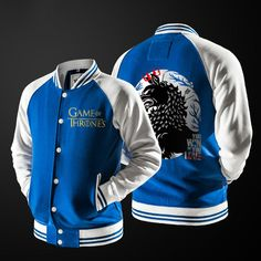 Bomber Jacket Merc Stark Game of thrones - Idol Store - Geek Cloud