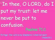 PSALM  71:1