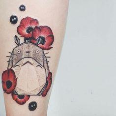 15 Irresistible My Neighbor Totoro Tattoos!