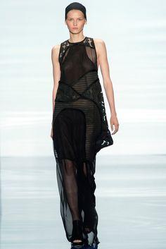 31e01b2a021e Vera Wang Spring 2014 Ready-to-Wear Fashion Show - Julia Nobis