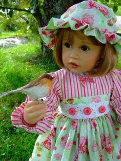 Skille doll, by Mai Britt Husom, Norway
