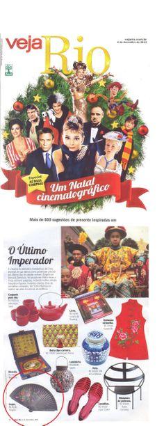 Singolo na Veja Rio como sugestão de Boas Compras para o Natal! :)