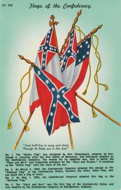 Confederate Flags This is part of the history of our country  like it or not  Just because something happens now after all this time u wanna take it down and ban it. That's bullsh**t .