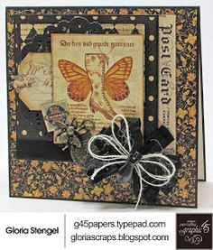 Olde Curiosity Shoppe  was one of my favorite collections when it was first released by Graphic 45. I was so excited to receive the NEW Del...