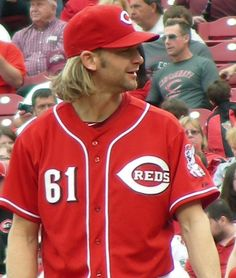 Bronson Arroyo! (Photo by the talented @AniRayne33!)... #Cincinnati #Reds #Boston #RedSox #MLB