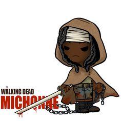 Little ass kickers: Michonne by AninhaT-T.deviantart.com on @deviantART