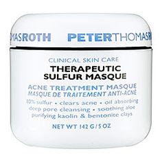 Sephora: Peter Thomas Roth : Therapeutic Sulfur Masque Acne Treatment Masque : face-mask