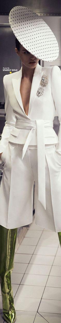Alexandre Vauthier Spring 2018 RTW...White Lovely