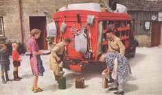 post-war England, from National Geographic (courtesy of The Serendipity Project)