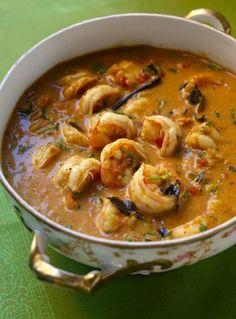 Cook Guru | Mozambican Cuisine: Caril de Camarão (Shrimps Curry)