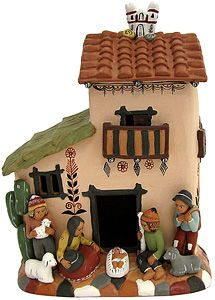 Love it.. want it..looks like a little dollhouse .Mexican pottery.:-)