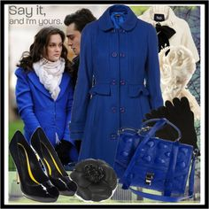 Blair Waldorf Style- Polyvore- simay and Gossip Girl