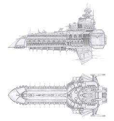 Cathedral ship by asylumseaker on DeviantArt