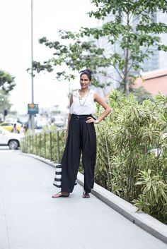 SHENTONISTA: Up To The Mark. Nishtha, Education. Pants from Vera Moda.	Shoes from Charles & Keith, Bag from Michael Kors. #shentonista #theuniformsg #singapore #fashion #streetstyle #style #ootd #sgootd #ootdsg #wiwt #popular #people #female #womenswear #sgstyle #minimal #MichaelKors #CharlesandKeith #VeraModa